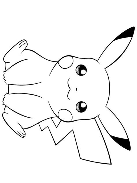 pikachu face coloring page coloring page pikachu coloring pages free printable pikachu coloring pages
