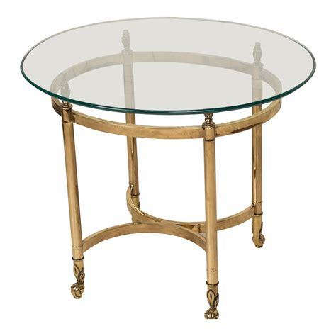 Brass Side Table Jenner Brass Side Table Found Vintage Rentals