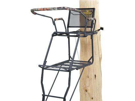 Rivers Edge Comfort Tree Seat by Rivers Edge Oasis Comfort Single Ladder Treestand Steel