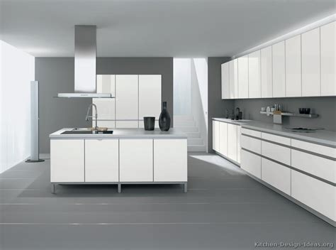 Unique Kitchens by Pictures Of Kitchens Modern White Kitchen Cabinets