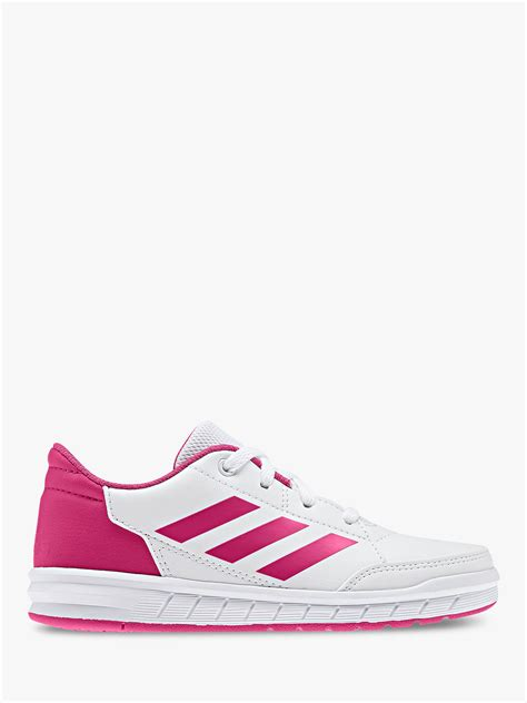 adidas childrens alta sport  lace  trainers white