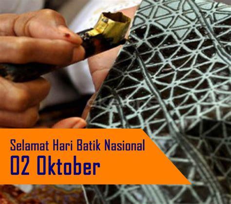 peringatan hari batik  oktober  smkn  rota bayat
