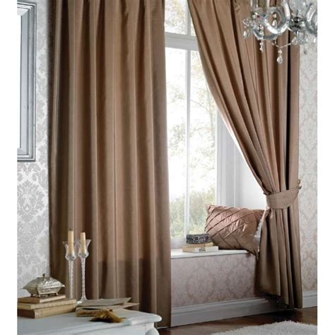faux silk curtains catherine lansfield faux silk pencil pleat curtains in