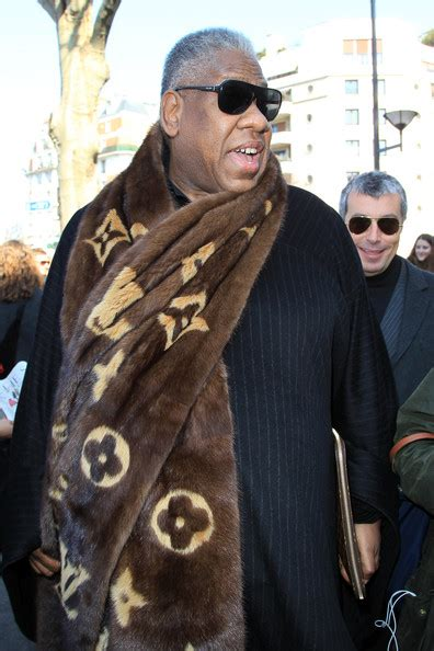 Andre Talley His Louis Vuitton Monogram Purse by Andre Talley S Louis Vuitton Fur Mink Monogram Scarf