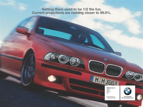 bmw advertisement and bmw ad caigns part one