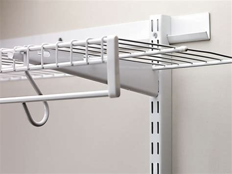Bracket Shelf System by Adjustable Shelving For Closet Ideas Advices For