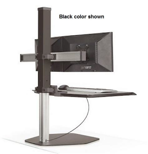 winston stand up desk innovative winston dual monitor sit stand workstation 30
