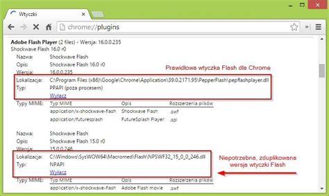 chrome update flash wtyczka shockwave flash nie odpowiada w chrome jak to
