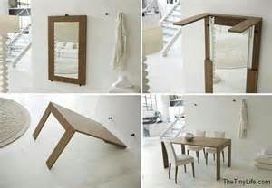folding furniture for small houses clever space saving ideas for small spaces the tiny