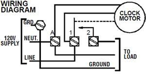 intermatic t 101r 120v 40 amp timer switch t101r new ebay