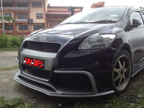 toyota wish bodykit singapore toyota vios 08 customized bodykit a design
