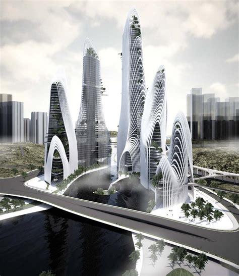 futuristic architecture shan shui city mad architects arch2o com