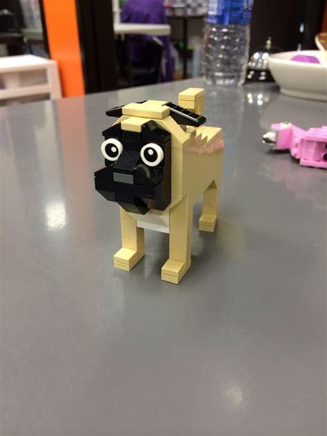 lego pug club lego pug lego