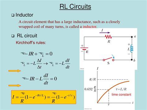 rl parallel circuit electrical4u 28 images integrating factor rl circuit 28 images lr