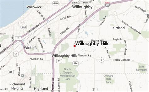 willoughby hills location guide