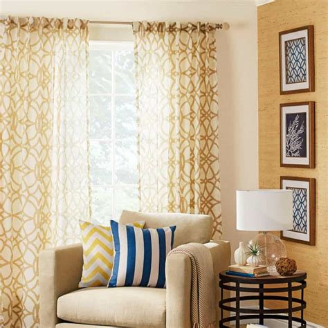 Pictures Of Living Room Curtains - house window with modern sheer curtains the length of