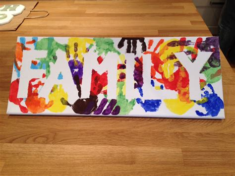 family crafts for 23 and handprint and footprint crafts for