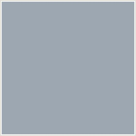 blue gray shade 9da7b2 hex color rgb 157 167 178 blue gray chateau
