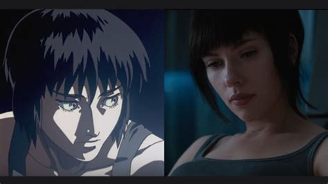 anime comedy live new compares ghost in the shell live trailer