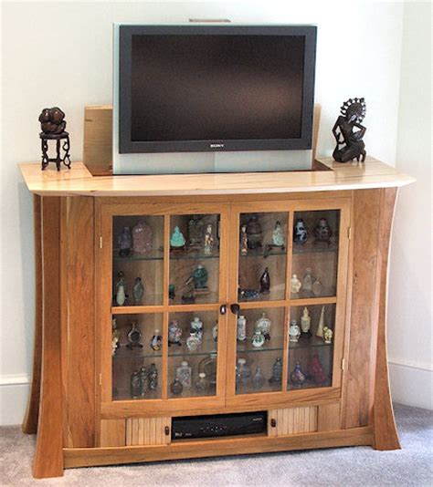 astonishing showcase design in wall 61 in decorating showcase with tv lift and hidden jewelry storage