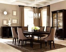 Modern Dining Room comfortable and elegant dining room furniture model home decor ideas