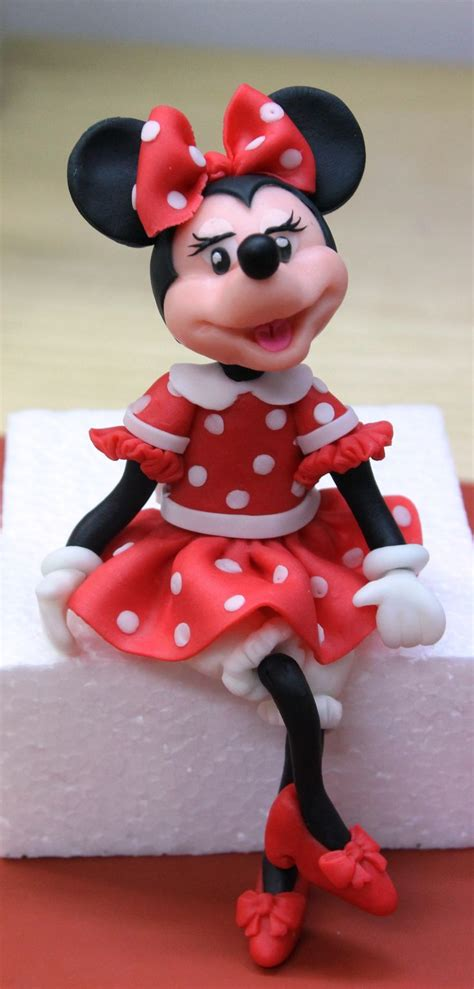 mickey minnie mouse cake images  pinterest fondant figures sugar paste  cake