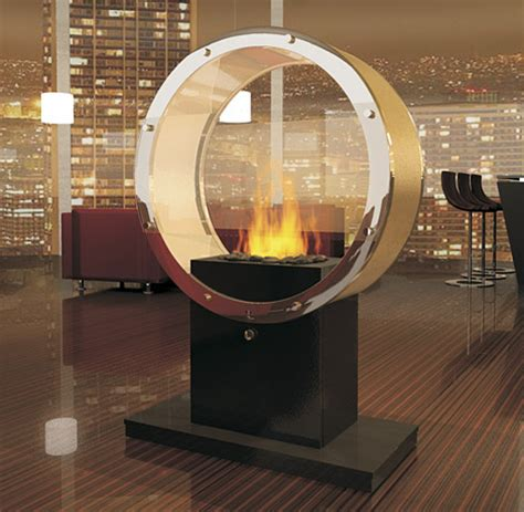 pedestal fireplace smokeless eco friendly fireplaces