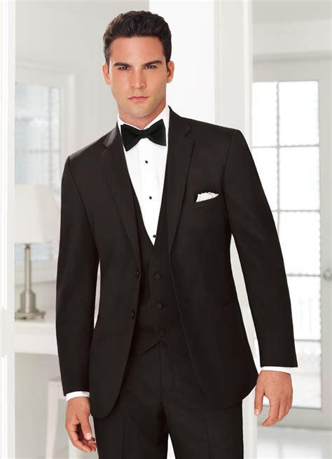 black tie black suit with black tie dress yy