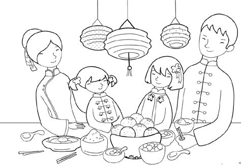 chinese new year color pages az coloring pages