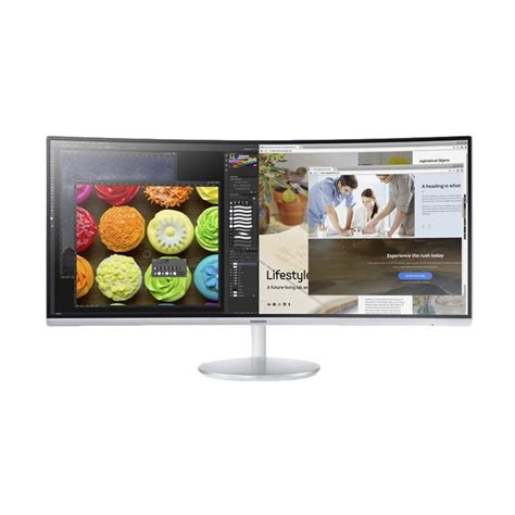 Monitor Led Samsung Baru jual samsung c34f791 ultrawide curved monitor led 34 inch