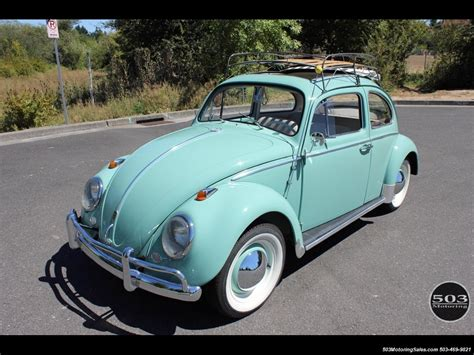4 Door Vw Beetle by 1963 Volkswagen Beetle Classic Ragtop 4 Speed Manual 2