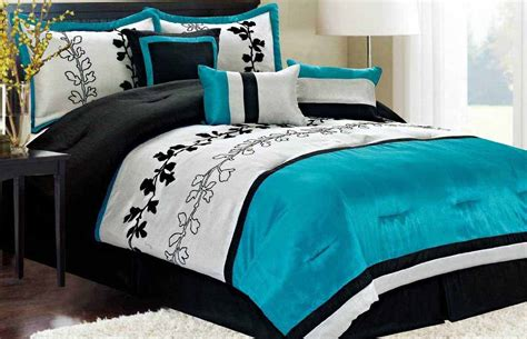 scandinavian master bedroom comforter sets turquoise white