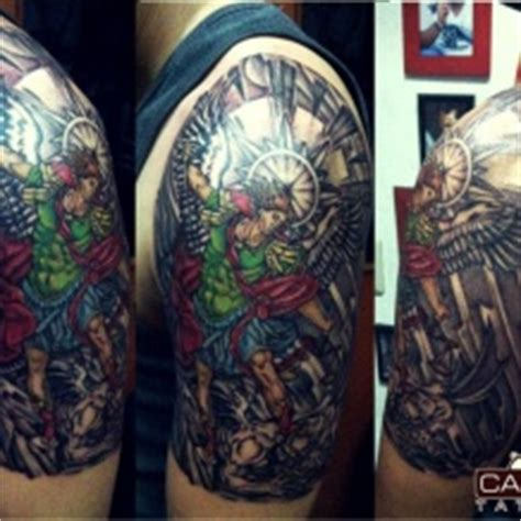 dominican tattoos made in republic canoa artist michell