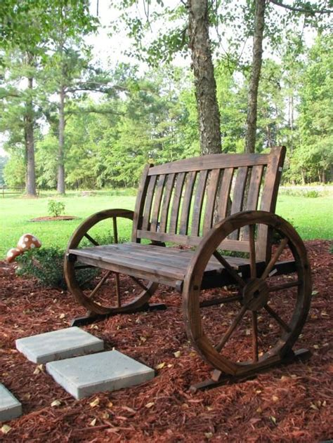 gardening bench with wheels 25 best ideas about rustic landscaping on