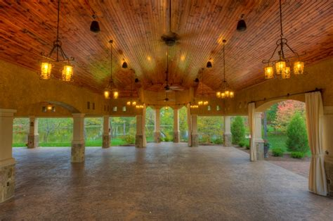 6 Light Bar Gervasi Vineyard Meetings Outdoor Pavilion