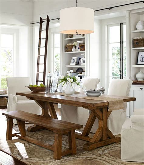 Farmhouse Dining Rooms by 17 Ideas About Farmhouse Dining Rooms On Pinterest