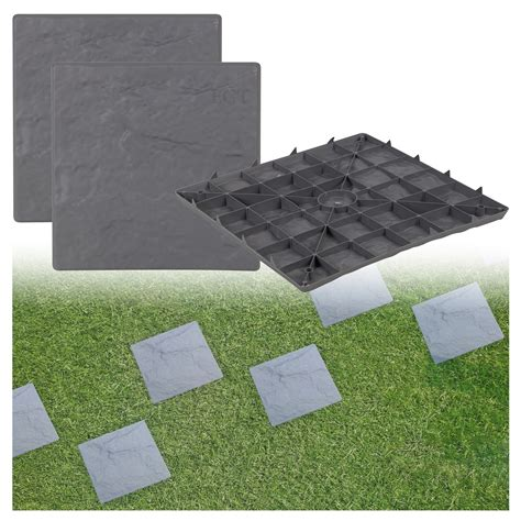 plastic patio paving slabs imitation garden tile stone