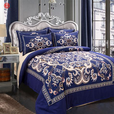 comforter cover twin home textile bohe blue flower bedding set cat duvet cover