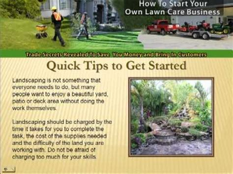 how to start a landscaping company starting a landscaping business how to start your own company make 9 home design ideas 4