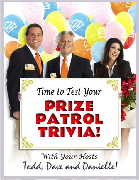 How Do You Know If You Win Pch - how well do you know our prize patrol take the quiz pch blog