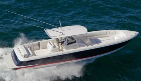center console boats diesel intrepid center console volvo ips sets world on fire