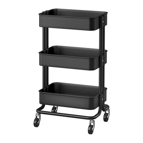 r 197 skog kitchen cart from ikea kitchen pinterest r 197 skog trolley black 35x45x78 cm ikea
