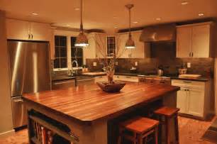 Countertop For Kitchen Island by Custom Mahogany Wood Kitchen Countertop In Blue Bell Pa
