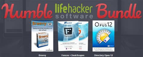 L Software Bundle by Humble Lifehacker Software Bundle Oc3d News