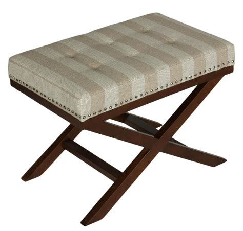 kayla bench 10 beautiful x base ottomans for a glamorous home cute