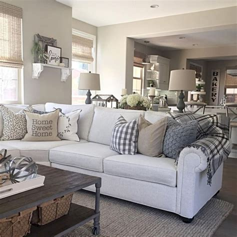 farmhouse livingroom 20 rustic farmhouse living room decor ideas bellezaroom