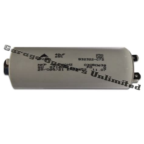garage door opener capacitor liftmaster 30b638 capacitor 1 3 hp
