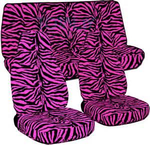 Seat Covers Zebra Print Animal Print Car Seat Covers Set Semi Custom Zebra