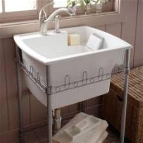 extra deep bathroom sink the latitude utility sink by kohler has a 12 quot deep basin