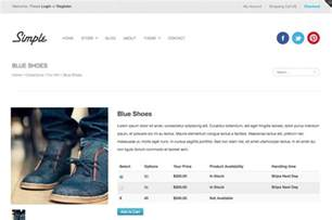 simple ecommerce template simple ecommerce template website templates on creative
